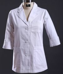 6102 - Lady's Short Lab Coat