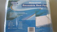 "Water proof Reusable Bed Pad 34"" x 52"""