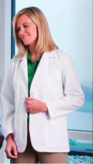 "15104 - Meta Fundamentals Ladie's 28"" Consultation Labcoat"