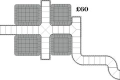 28mm Small City Block Set