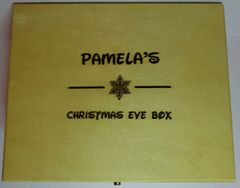 Personalised Christmas Eve Box (Snowflake Design)