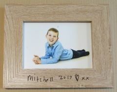 Customer Supplied - Personalized Wooden Picture Frame