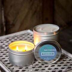 Timber 12oz Tin Soy Candle