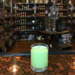 Bergamot & Sage 2.5oz Soy Candle in Glass