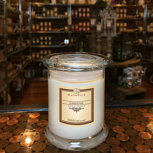 Gardenia 10oz Soy Candle | Handmade Natural Essential Oil ...