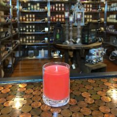 Orange Chili Pepper 2.5oz Soy Candle in Glass