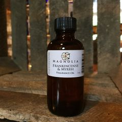 Frankincense & Myrrh 2oz Fragrance Oil