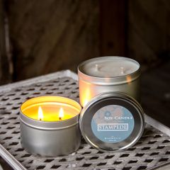 Stampede 12oz Tin Soy Candle