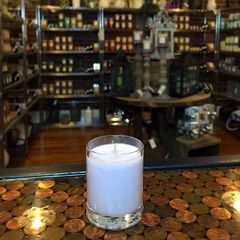 Vanilla Lavender 2.5oz Soy Candle in Glass