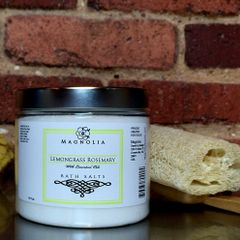 Lemongrass Rosemary 16oz Bath Salts