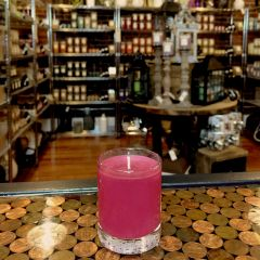 Mulberry 2.5oz Soy Candle in Glass