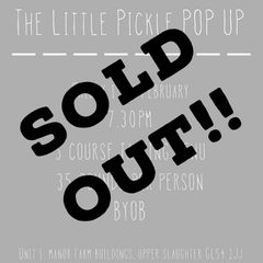 The Little Pickle Pop Up 15th February