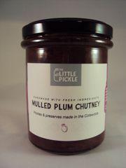 Mulled Plum Chutney