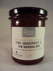 Pink Grapefruit and Gin Marmalade