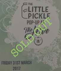 Pop Up Ticket at The Hive on Friday 31st March 2017