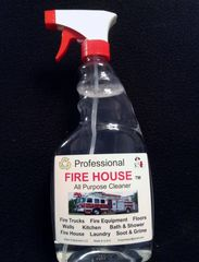 Professional FIRE HOUSE tm All purpose Cleaner