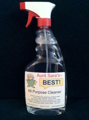 Aunt Sara's BEST All Purpose Cleaner 24 Ounce