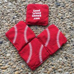Yard Baseball Bags, Red