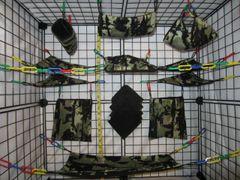15 pc Bedding - Sugar Glider Cage Set - Rat - Forrest Camo