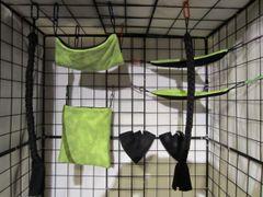 8 Pc Sugar Glider Cage Set - Pick a Color