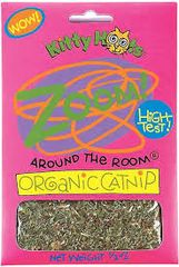Fat Cat Zoom Around The Room Organic Catnip, 1/2-oz bag