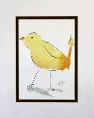 Watercolor Bird #456