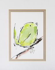 Watercolor Bird #346