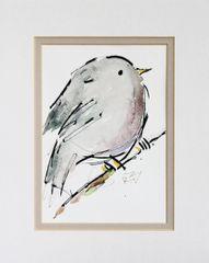 Watercolor Bird #407