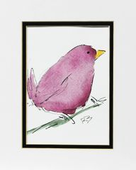 Watercolor Bird #457