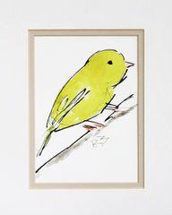 Watercolor Bird #406