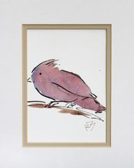 Watercolor Bird #450