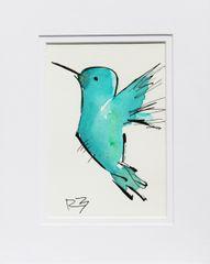Watercolor Bird #520