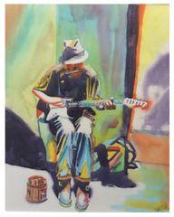 Musician Man on the Street