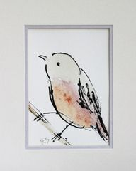Watercolor Bird #290