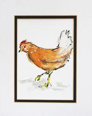 Watercolor Bird #397