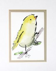 Watercolor Bird #442