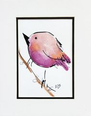 Watercolor Bird #511