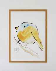 Watercolor Bird #474