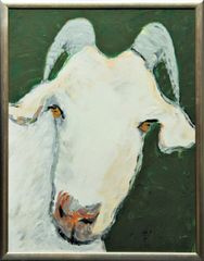 Goat on Green