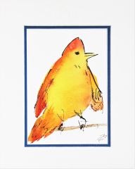 Watercolor Bird #62