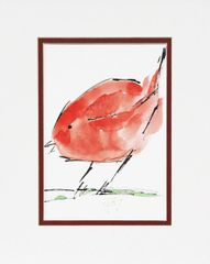 Watercolor Bird #338