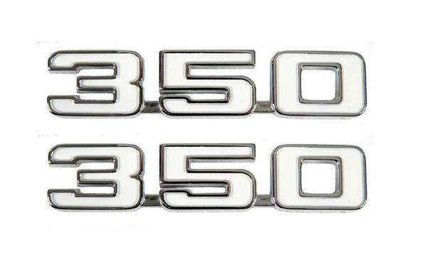1969 camaro  u0026quot 350 u0026quot  fender emblems pair