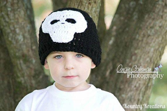 Crochet Skull Hat Kountry Kreations