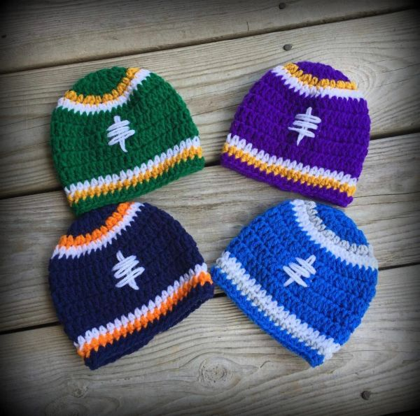 Lets Play Some Football Hat Kountry Kreations