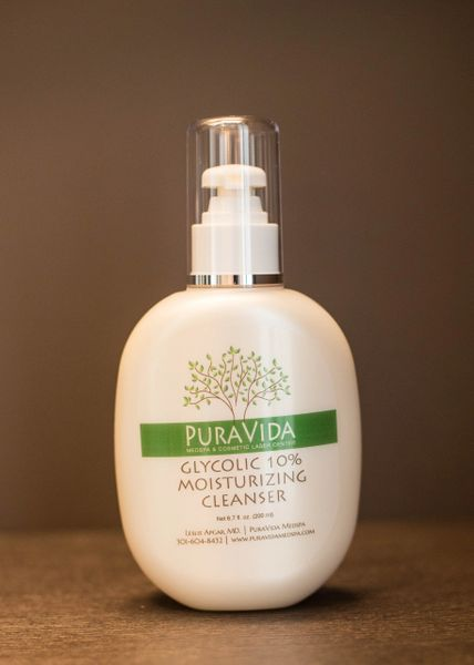 Glycolic 10% Moisturizing Cleanser