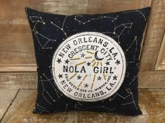 NOLA Girl Pillow