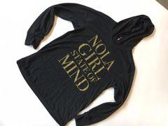 Black and Gold NOLA Girl Hoodie