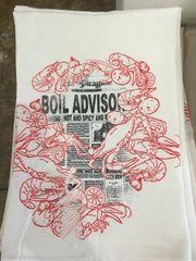 Boil Advisory Floursack Towel