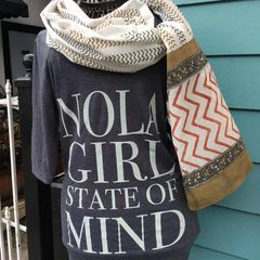 NOLA Girl State of Mind 3/4 Sleeve