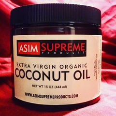 Extra Virgin Organic Coconut Oil (15 oz.)